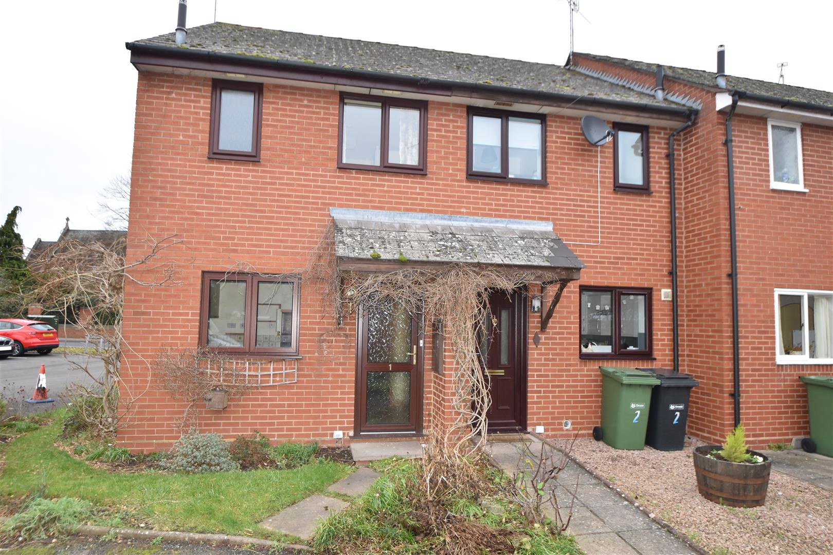 2 Bedrooms End Of Terrace House for sale in Sansome Mews, Worcester